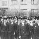 1986 г. Курсанты. Перед построением.