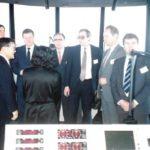 1994, Япония, Посещение аэродромной Вышки делегацией Росаэронавигации.