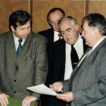 К.К. Руппель, Б.И. Кушнерук, Л.К. Щербаков, Павлюк В.К.