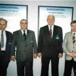 1998. Брюссель, Евроконтроль, Заключении договора о сотрудничестве.Справа Л.Щербаков, В. Галкин, Б.Кушнерук