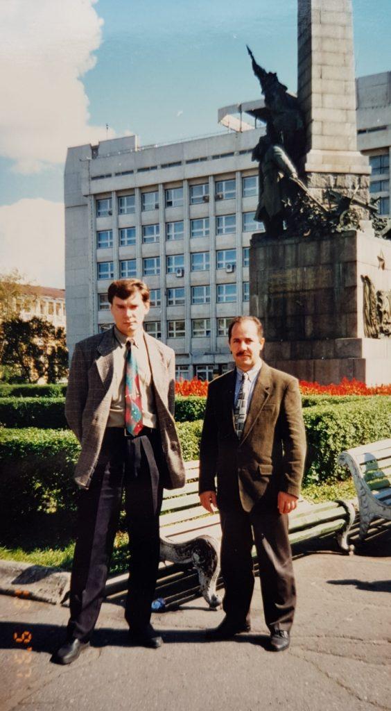 1997 Хабаровск. В.Ежов и С.Ковалёв