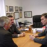 2006. Встреча с представителем Аэронавигационных служб Киргизии