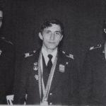 Призёры конкурса профмастерства специалистов УВД, В.Бродулев (справа)