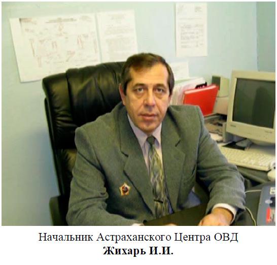 Жихарь Иван Иванович. Астрахань.