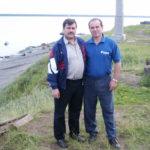 2005г. Туруханск. Колтаков и Чохляд