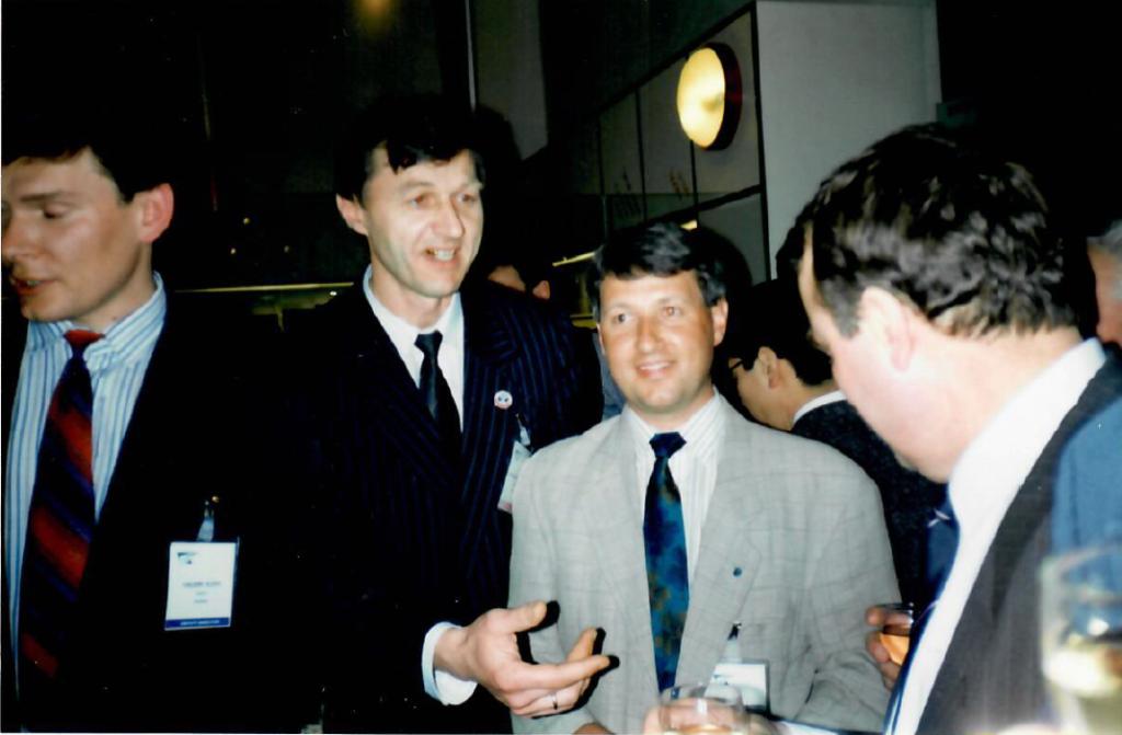 Президент ИФАТКА с Российской делегацией.