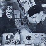 Сыктывкар. С 1969 по 1973 г.г. начальником службы радионавигации связи был Думенко Геннадий Александрович (слева), Савицкий С.М.