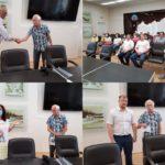 Щеглов М.Б. Чествование в связи с уходом за заслуженный отдых..