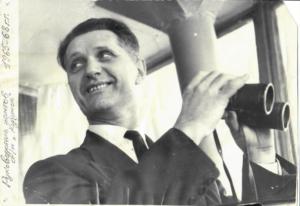 1965г. а/п Курумоч. Твердохлеб И.С. Руководитель полетов.