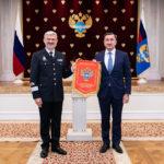 Награждение ГК по ОрВД вымпелом Минтранса России