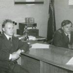 1981г. Фидюк Д.И. нач. БЭРТОС и секретарь парторганизации Базы ЭРТОС