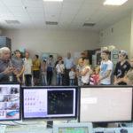 2014г. экскурсия в службе ЭРТОС