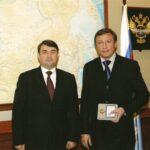 И.М. Александров с Министром транспорта РФ И.Е. Левитиным