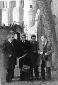 1. Участники межминистерской рабочей группы по закупке зарубежных АС УВД, 1973 год.