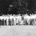 8. Участники одного из совместных совещаний ВВРК УВД СВД и ПКГА СЭВ в ГДР.
