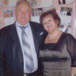 Захаров В.Г. с супругой.