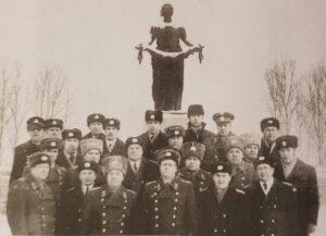 1981г. Ленинград. Сборы нач. РЦ ЕС УВД