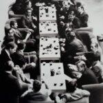 Перерыв на кофе советской и шведской делегаций_Мальме 1976