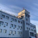 Старое здание КДП Якутск, которое в данное время является резервным для основного здания УЦ