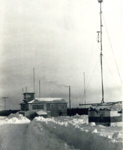1970. Здание КДП аэропорта Сургут.