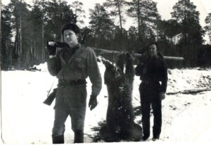 Старый передающий центр- Защита территории (слева) Наумов А.В.