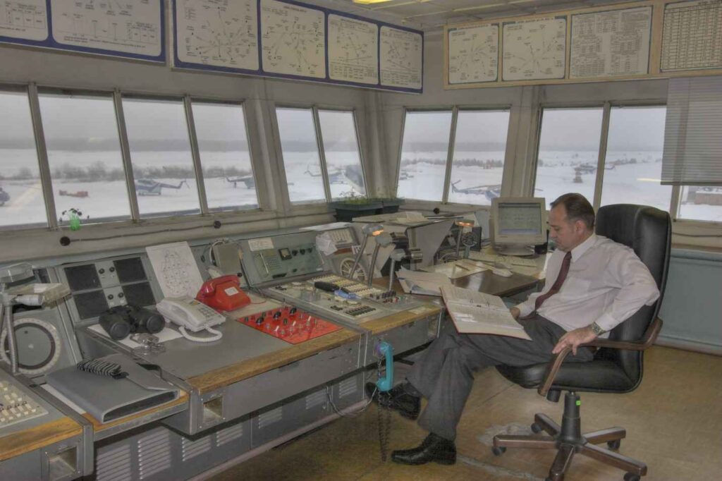 Диспетчерский пункт Вышка-КДП 2009г. Диспетчер КДП Штоль В.А.