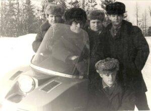 Надым. Милежик А.П., Шевцов Л.И. Коллектив объекта 1РЛ139 «Меч». 1983