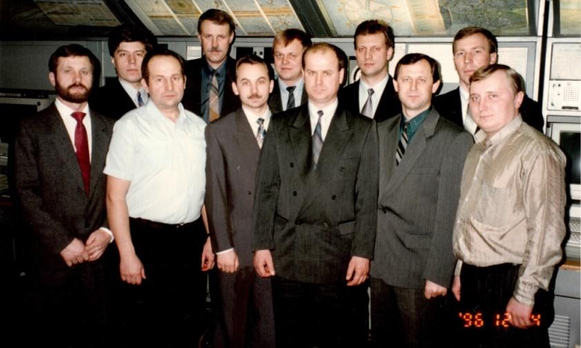 Ноябрьск. Служба движения, 1996 год