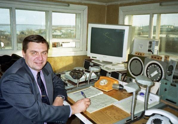 РП на КДП аэродрома Тазовский