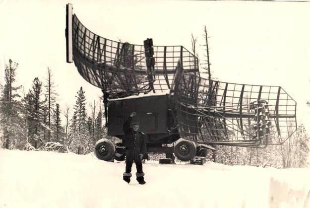 Шевцов Л.И. 2-ой комплект трассового локатора 1РЛ139. 1979 год.