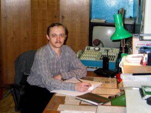 Шевцов Л.И. Рабочее место сменного инженера ЭРТОС. 2005