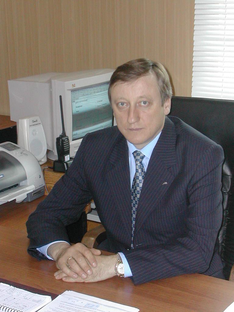 Соболь Александр Иванович. Директор филиала Чукотаэроконтроль