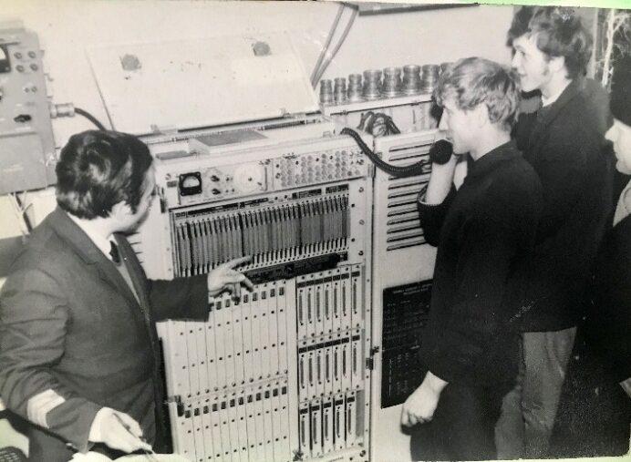 Тех.учеба в АТС, 1977 год