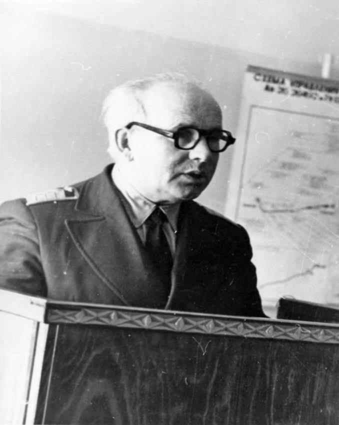 Начальник службы ЭРТОС (1964-1989) Хазановский Семен Борисович