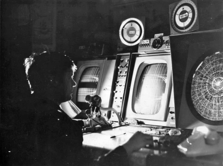 Мякишев В.П. 1983 г. ПДСП, Индикаторы РП-3Г, ДРЛ-7СМ