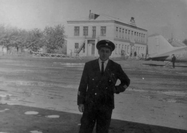 Кадигроб И.Г. руководитель полетов 1966 год